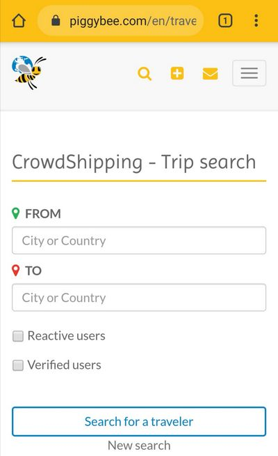Crowdshipping-App